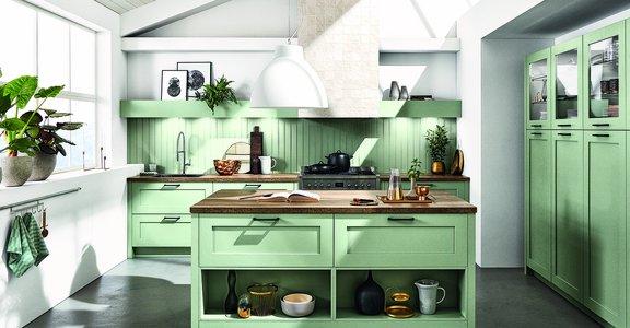 Küchenspezialist, ai Küchen Berlin, Berlin, ai Küchen, nobilia, grüne Küche, grün